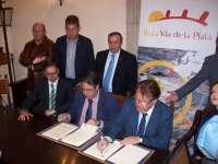 El consejero de Fomento defiende el mantenimiento de la vía férrea del tren Ruta de la Plata