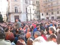 Miles de personas reclaman en Valencia una nueva investigación sobre el accidente del metro