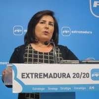 El PP destaca que Extremadura está
