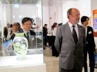 Valladolid acoge 231 obras de arte contemporáneo japonés en tres salas de exposiciones, mil metros cuadrados de espacio
