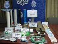 La Policía se incauta de 200 gramos de cocaína y 12 kilos de hachís