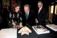 Dinópolis presenta dos nuevas especies de cocodrilos halladas en el yacimiento de Ariño