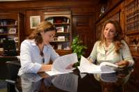 El Cabildo firma un convenio para incrementar la presencia en Internet del programa Tenerife Solidario