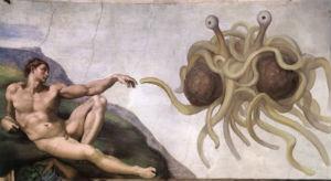 Monstruo Espagueti Volador.