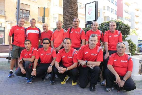 Doce atletas de Albal correrán 115 kilómetros en apoyo a la lucha contra el cáncer