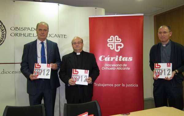 Cáritas atiende a 72.000 personas necesitadas en la provincia, la mitad de ellos españoles de clase media