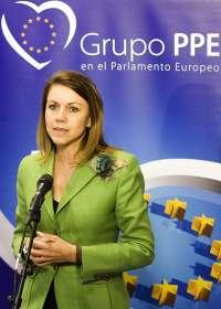 Cospedal defenderá este jueves en Bruselas los intereses de Castilla-La Mancha en materia de empleo y agricultura