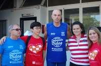 El corredor del reto solidario 'Desafío Donando Vidas' llega a Sevilla
