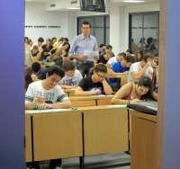 Comienza sin incidencias la segunda jornada de la Selectividad en las universidades andaluzas