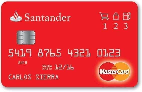 Banco Santander lanza una tarjeta de crédito que devuelve dinero en compras habituales