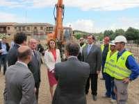 Cospedal inaugura las obras del remonte de Safont, con un presupuesto de más 2,2 millones y un plazo de 14 meses