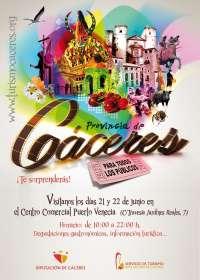 La provincia de Cáceres presenta este fin de semana en Zaragoza su oferta gastronómica y cultural