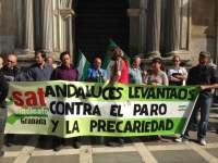Militantes del SAT citados por la ocupación de Las Turquillas se niegan a declarar ante el TSJA