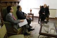 La Junta y el arzobispado de Valladolid estudian la transmisión de un retablo de la iglesia de Santa María de Olmedo