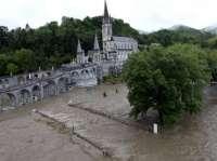 Suspendida la Peregrinación diocesana a Lourdes debido fuertes inundaciones