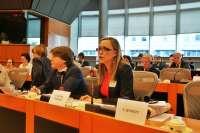Facenda reivindica en el Parlamento Europeo el