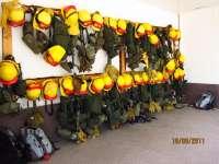 Siete medios aéreos, tres cuadrillas y una unidad móvil de la lucha contra incendios tienen como base Galicia