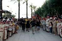 El Puerto de Tarragona colabora en la llegada de la Flama del Canigó al Serrallo