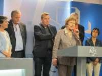Eurodiputados denuncian que se les ha impedido visitar a Otegi en la cárcel de Logroño