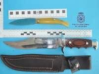 A prisión por amenazar de muerte a su exmujer con un machete y un bote de líquido corrosivo