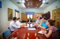 El PP en el Parlamento de Extremadura mantiene un encuentro con asociaciones de jóvenes empresarios