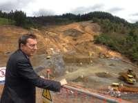 Diputación de Bizkaia inicia la excavación del túnel de Urdinbide, de 703 metros de largo, en la variante de Autzagane