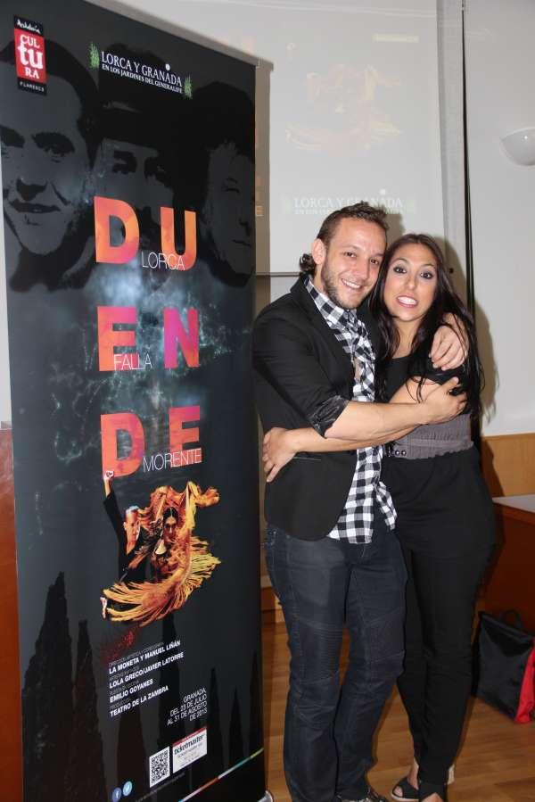 Miguel Ríos graba el poema 'La guitarra' de Lorca para el espectáculo 'Duende'