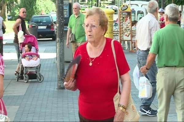 Los mayores son las personas con más riesgo de sufrir un golpe de calor