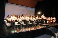 Cáritas agradece el éxito del primer concierto solidario del verano del Patronato Musical Aguileño