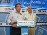 Manzano (PP) pide a los