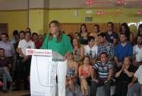 Díaz pide a los socialistas el apoyo para