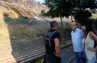 Controlado el incendio en una de las laderas del Conquero, provocado según las primeras investigaciones