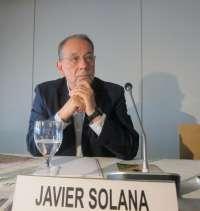 Javier Solana abogará este lunes en Foro Nueva Murcia por una Europa con un liderazgo político firme