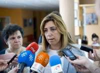 Susana Díaz, convencida de que no hay