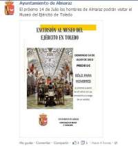 El PSOE critica que el Ayuntamiento de Almaraz (Cáceres) organice una excursión a Toledo