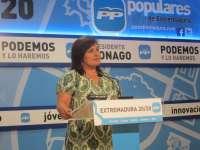 El PP destaca que el Gobierno de Monago ha llegado a la región