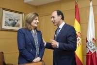 Diego y Báñez ultiman la adhesión del Estado al Plan de Lucha contra la Economía Irregular de Cantabria