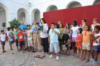 La Diputación recibe con un desayuno a niños saharauis participantes en el programa de 'Vacaciones en Paz'