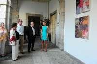 Inaugurada en el Parlamento la exposición 'MÁS NUEVA YORK', la tercera muestra de la cántabra Beatriz Elorza