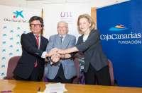 'La Caixa' y la Fundación CajaCanarias destinarán 600.000 euros para favorecer el acceso a la ULL