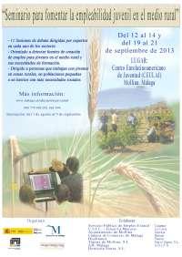 La Diputación organiza un seminario para fomentar el empleo juvenil en las zonas rurales de la provincia