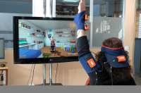 La realidad virtual y la captación de movimiento permite a pacientes de Parapléjicos hacer telerehabilitación desde casa