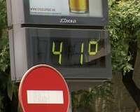 Las provincias de Ourense, Pontevedra y Lugo estarán este martes en alerta por temperaturas elevadas