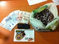 Detenido un joven en la Estación de Autobuses con 1,9 kilos de hachís ocultos en pasteles de miel