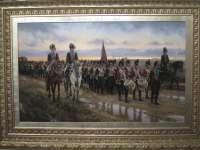 Más de 20.000 personas han pasado por la muestra de pintura militar de Ferrer-Dalmau en Valladolid, que acaba el domingo