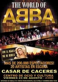 El musical 'ABBA' llega a la plaza de toros de Casar de Cáceres este viernes