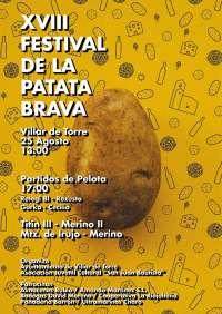 Villar de Torre repartirá este domingo 2.500 raciones de patatas bravas