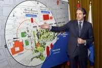 El 'anillo cultural' se difundirá desde septiembre entre santanderinos y visitantes en mapas y tótems