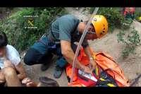 El Servicio de Montaña de la Guardia Civil ha practicado cerca de 500 rescates hasta julio, 178 en Aragón