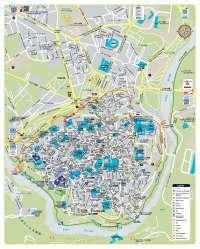 Ayuntamiento de Toledo amplía servicios para turistas del mercado nipón editando un plano turístico en japonés